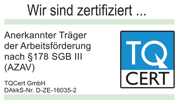 Logo TQ Zertifizierung